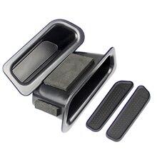Для Volvo XC60 2010-2017 дверные ручки подлокотник коробка для хранения Контейнер держатель лоток машины Организатор Интимные аксессуары стайлинга автомобилей