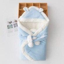 От 0 до 6 месяцев пеленки для младенцев, спальные мешки, Bebe, весенние теплые спальные мешки, зимнее плотное одеяло из хлопка для новорожденных детей