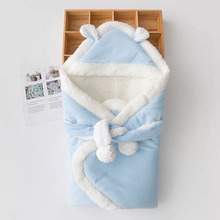 0-6Month Infant  Swaddle Wrap Sleep sacks,Bebe Spring Thermal Sleeping Bags ,Newborn Baby Winter Kids Cotton Thick Quilt