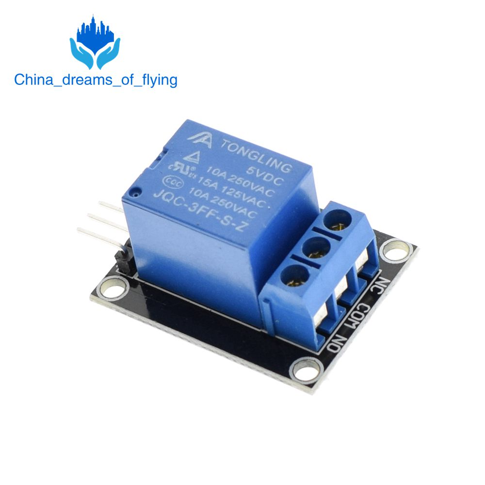TZT  10pcs KY-019 5V One 1 Channel Relay Module Board Shield For PIC AVR DSP ARM for arduino Relay