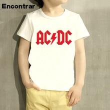 Kids AC/DC Print T Shirt Baby Boys/Girl