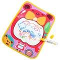 TS que Tiram A Água Pintura Escrever Mat Board + Magic Pen Doodle Toy 36*26.5 CM Levert Dropship De Agosto De 26