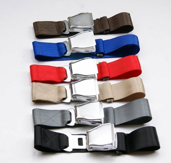 fashion belts with  airline seatbelt buckle  Adjustable length   - Car Interior Accessories - Photo 4