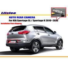 Cámara Trasera del coche Para KIA Sportage SL/Sportage R 2010 ~ 2015/Back estacionamiento de La Cámara/CCD HD RCA NTST PAL/Luz de la Matrícula del OEM