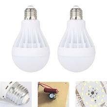 New 1PCS Cool White Light LED Light Bulb E27 2835 SMD 5730 3W 5W 7W 9W 12W 15W Replace Halogen Bombillas AC 180V-260V Lamps xunruixing p 005 e27 5w 320lm 8350k 20 smd 2835 led cool white light bulb white ac 220v