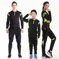 New Season Football Training kit Men Women Child Football Tracksuit Soccer Tracksuit Football Jersey Sportswear Running suit