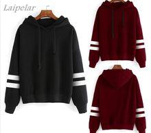 2018 Autumn Women Hoodie Casual Long Sleeve Hooded Pullover Sweatshirts Female Jumper Tracksuits Sportswear