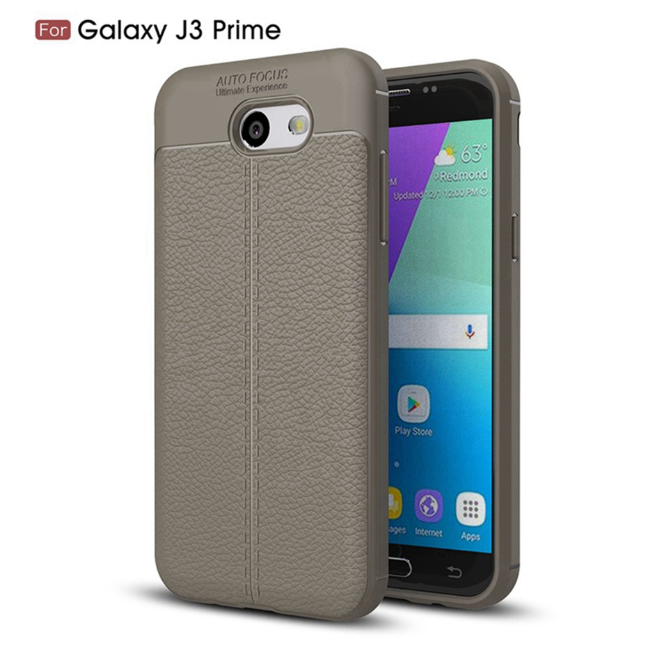 WhaY Explorer Case For Samsung Galaxy J3 Prime Cover Luxury Leather TPU Silicone Back Cover For Samsung J3 Prime Cases Fundas    (8)