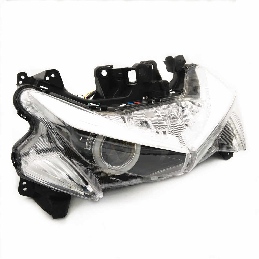 Modified motorcycle parts nvx Headlight HID head light LED headlamp front  lamps for YAMAHA NVX155 L155 ARROX155 2017 2018