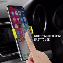 UEESFIT Car Phone Holder for iPhone 8 X Air Vent Mount Car Holder