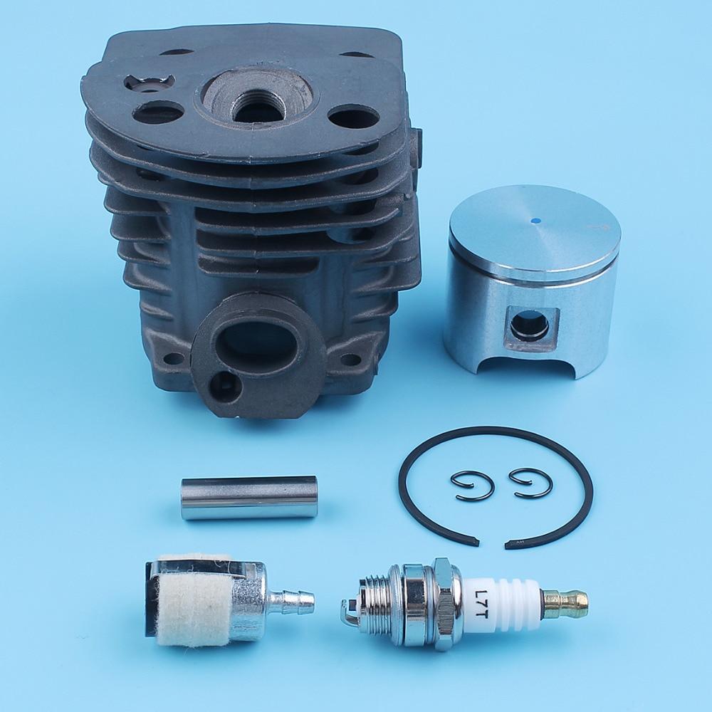 46mm Cylinder Piston Rings Kit for Husqvarna Husky 51 55 Chainsaw 503 60 91-71