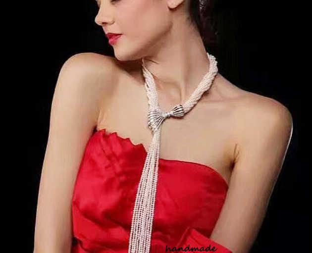 Schmuck Machen Liefert DIY Perlen Schmuck Zubehör Mode Luxus Großen Anhänger Für Perlen Perlen Halskette, Die Entdeckungen