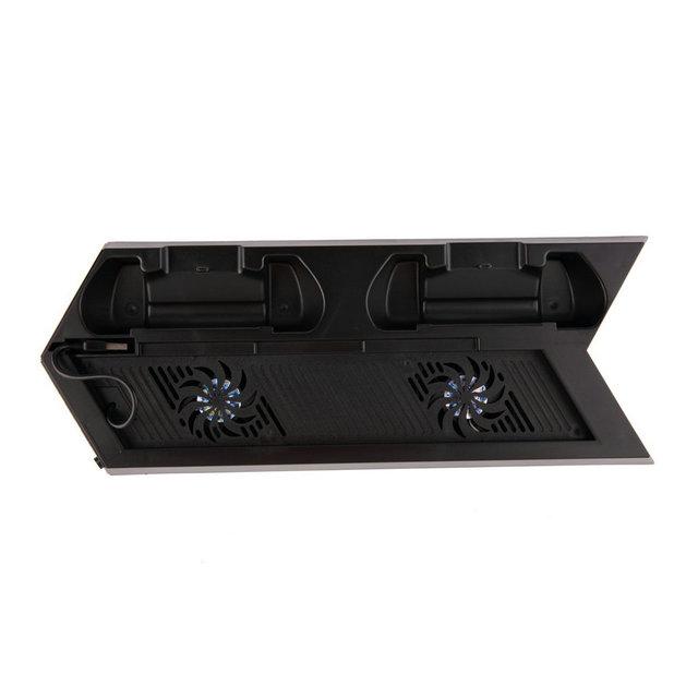 Nueva llegada de Super Ventilador de Refrigeración para PS4 para Play station 4 Consola de Juegos Enfriar Negro