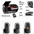 Pequeño Mini HD Novatek cámara Del Coche DVR caja negro Vehículo dvr coche grabadora de Vídeo sin pantalla DVD cámara de uso Universal