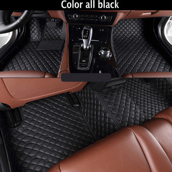 Custom fit car floor mats for BMW 3 series E46 E90 E91 E92 E93 F30 F31 F34 GT 5D car styling carpet floor liners image