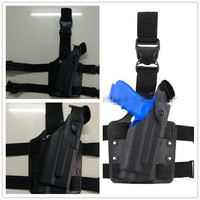 Safariland Tactical Drop Leg Holster w/ Flashlight for Glock Airsoft