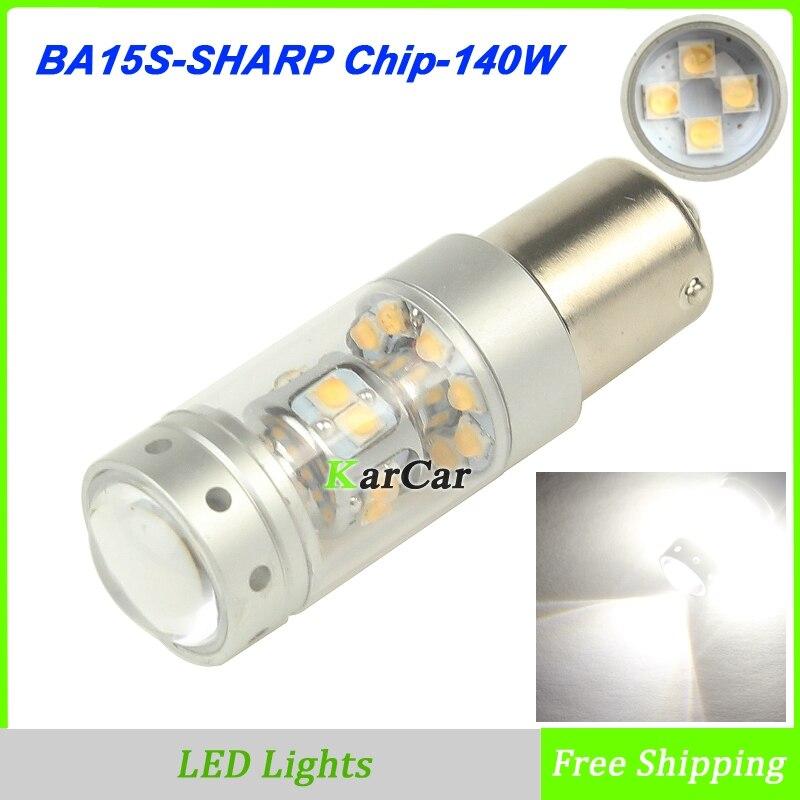 2Pcs/Lot New 140W 1200LM BA15S 1141 LED Daytime Driving Lights 12V 1156 1003 Fog Lamp P21W  Reverse Light  7506 Car Brake Bulb 2 pcs lot air filter for stihl 4224 140 1801a 4224 140 1801a ts700 ts800 new