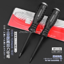 Тестовый карандаш(200-500 В), электрическое тестовое электрическое перо, крестовая отвертка, отвертка с высоким крутящим моментом, электроинструменты