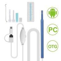 USB In Oor Schoonmaken Endoscoop Mini Camera Oor Gezondheidszorg Schoonmaken Tool Voor Android PC Oor Lepel Otoscoop Borescope Tool