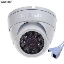 Gadinan ONVIF Metal Housing IP66 Wide Angle 2.8mm Lens 720P 960P 1080P VandalProof Anti-vandal Indoor Outdoor IP Camera