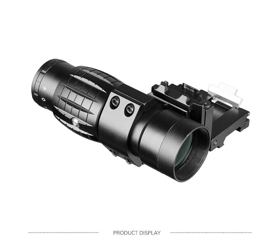 visão óptica caça riflescope mira com ajuste