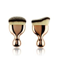 CARELSER 2019 hot sale makeup brush gold wine glass soft cheek foundation powder blush beauty tools wholesale