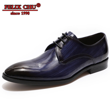Luxury Patent Genuine Leather Men Shoe Lace Up Derby Formal Shoes European Style Party Wedding Banquet Dress Shoes for Male цены онлайн