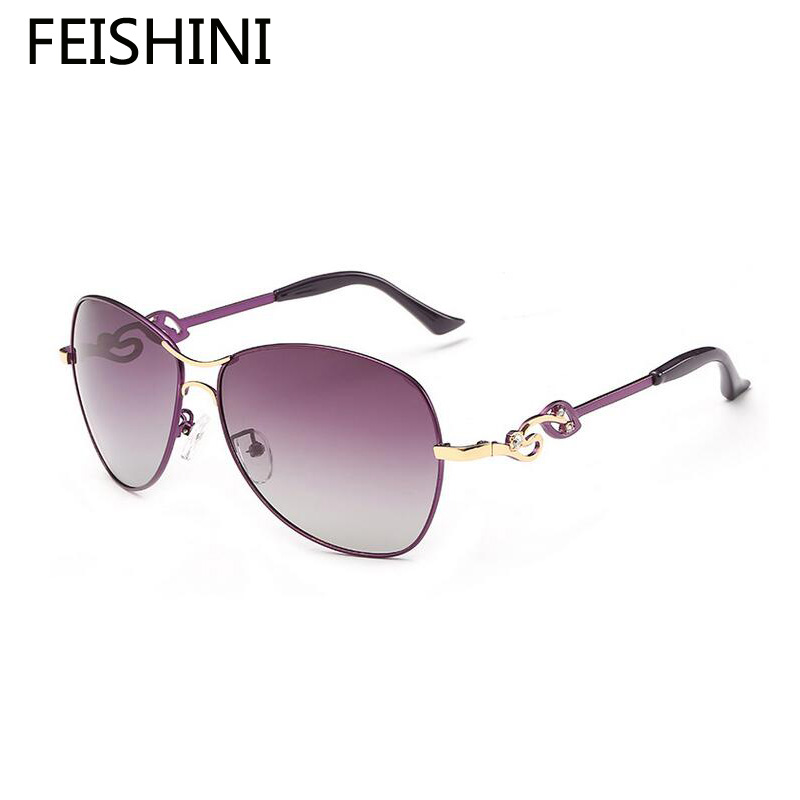 ₪Feishini TAC cristal artificial decoración grasa sunglass ...