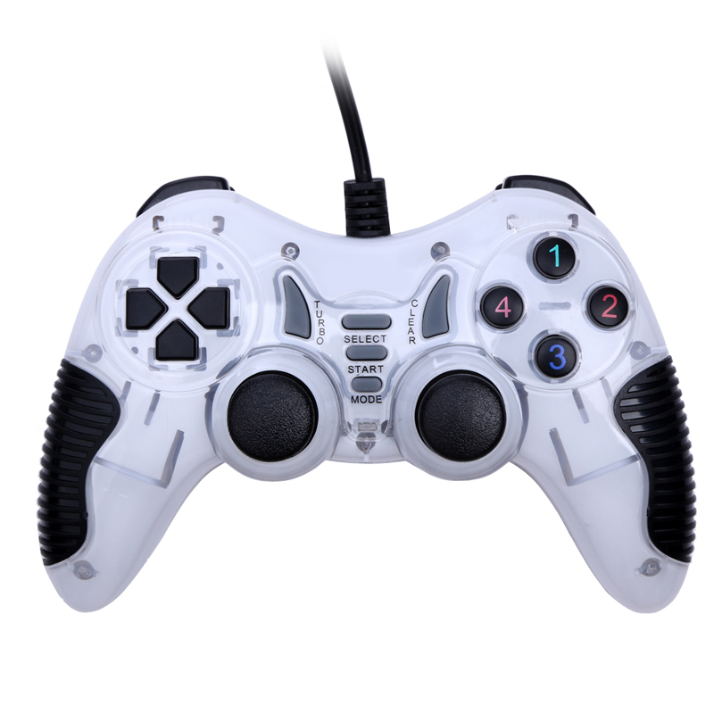 High Quality PC Vibration USB Wired Joypad Gamepad Controller For PC Computer <font><b>Laptop</b></font> Windows <font><b>Joystick</b></font> Game Pad Joypad Controller image