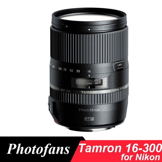 Tamron 16-300mm f/3.5-6.3 Di II CR PZD 16-300 Objectif MACRO pour Nikon D3200 D3300 D3400 D5200 D5300 D5500 D5600 D7000 D7100 D7200