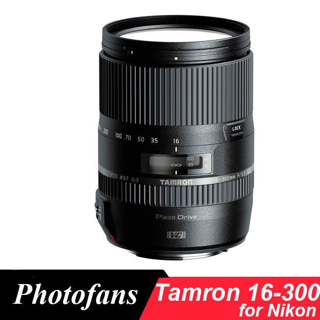 Tamron 16-300mm f/3.5-6.3 Di II VC PZD 16-300 MACRO Lens for Nikon D3200 D3300 D3400 D5200 D5300 D5500 D5600 D7000 D7100 D7200 tamron 16 300mm f 3 5 6 3 di ll vc pzd macro nikon объектив