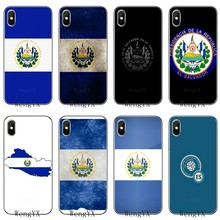 bf24601cea El Salvador Coat Of Arms flag slim silicone TPU Soft phone cover case For  Apple iPhone 4 4s 5 5s 5c SE 6 6s 7 8 plus X XR XS Max