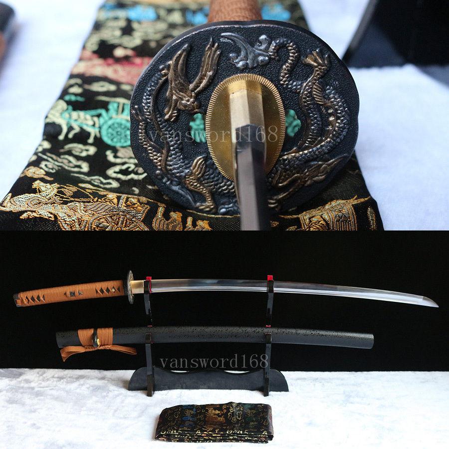 Berdiri bebas + pedang Penuh Tang Tangan menempa 1060 baja karbon - Dekorasi rumah - Foto 1