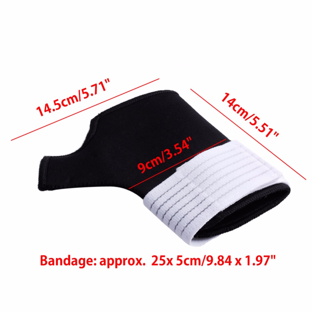 1 Pair Kinesiology Tape Wrist Brace Support Football Wrist Tape Splint Arthritis Relief Gloves Sleeves Thumb Wrap Hand Palm