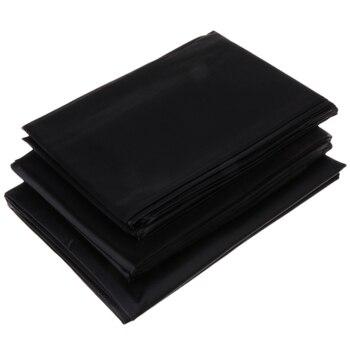 3 maten Zwart PVC Laken Sexy Waterdichte Beddengoed Game Outdoor Veld Lakens Product voor Koppels