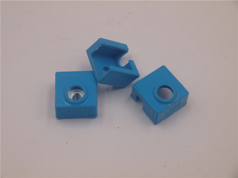 Funssor 3pcs* Silicone Socks for MK7/MK8/MK9 HEATER BLOCK COVER Heater Block Insulation Replicator Anet Prusa i3