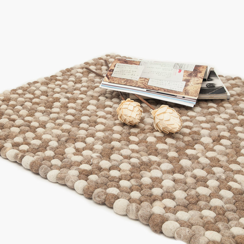 European retro home decor pure wool rug rectangular coffee table circular living room carpet bedroom tatami mats