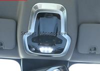 Nieuwe!! Voor Alfa Romeo Giulia Stelvio 2017 Abs Matte Chrome Interieur Voorste Rij Dak Leeslamp Frame Cover Trim 1 Stuks