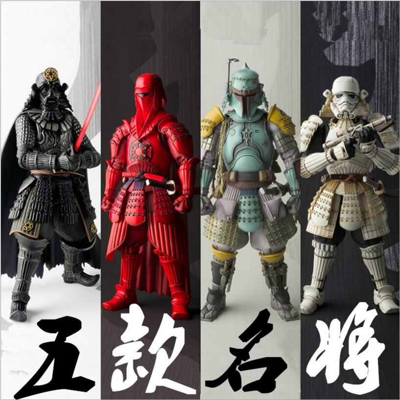 ФОТО 6 Patterns High quality Large Size 19cm Star Wars Figure toys Darth Vader Stormtrooper Bob The Red Guards PVC Collectible Toy