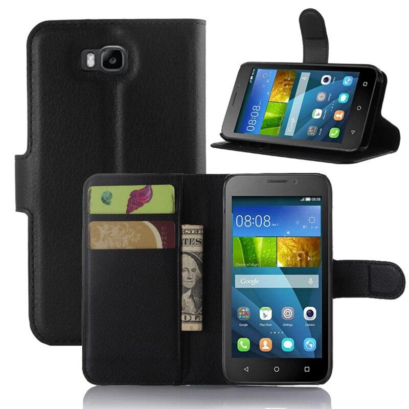 newest d3e4e effe5 YINGHUI For Huawei Y5C Y541 Case Coque Fundas For Huawei Ascend Y560-U02 /  Honor Bee Y541-U02 Y5c Phone Case Leather Flip Cover