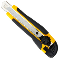 High Quality Paper Cutter Large Size Utility Knife Auto Lock Paper Cutter With Spare Blade School