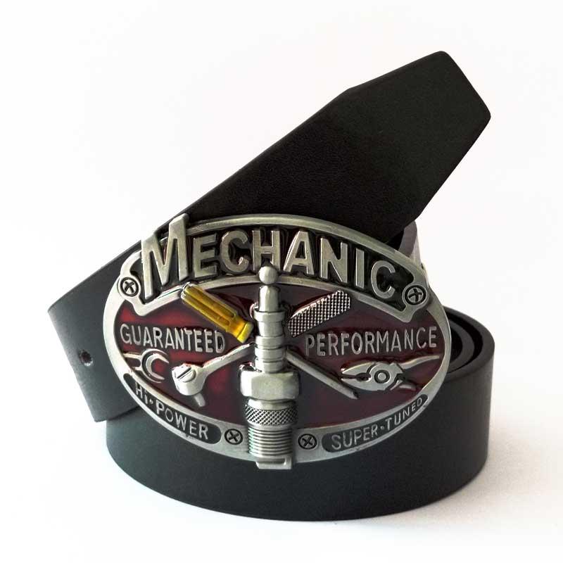 T-DISOM Západní opasek s černým páskem Módní design Pánské přezky ZincAlloy Buckle Vhodné pro 4cm Belt Drop shipping