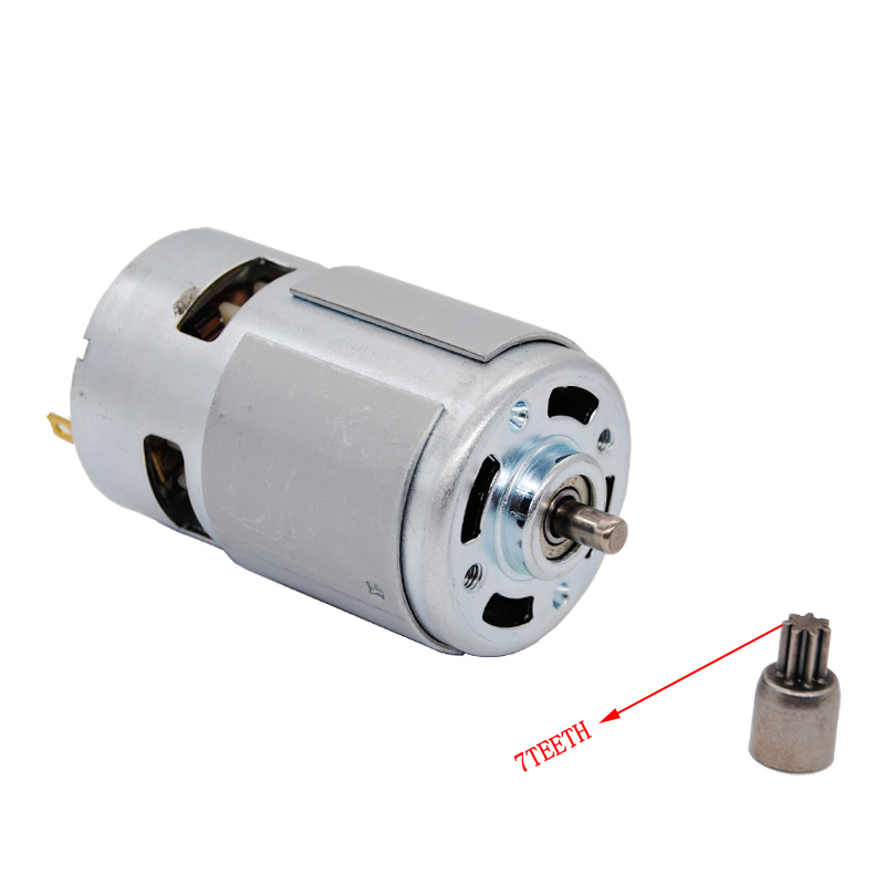 775 DC Motor DC 12V-36V 3500--9000 RPM Ball Bearing Large Torque High Power Low Noise Hot Sale Electronic Component Motor