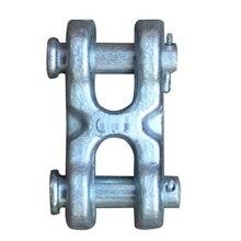 """1/""""-5/8"""" 8-20 мм 2-7,5 T H разъем типа для подъема цепи такелаж оборудования кованые литые стальная петля подключения висит кольцо"""