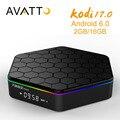 [Avatto] exclusiva kodi totalmente carga t95z plus 2 gb/16 gb amlogic s912 android 6.0 smart tv caja octa-core, 5g-wifi, bt4.0, 4 k, h.265