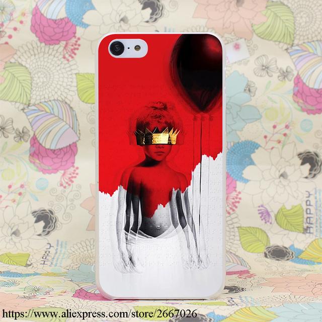 Rihanna Hard Transparent Cover Case for iPhone 7 7 Plus 6 6S Plus 5 5S SE 5C 4 4S