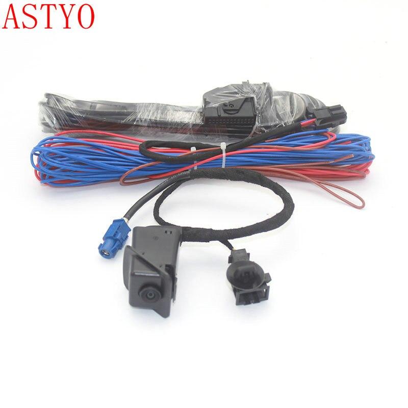 ASTYO For VW Scirocco POLO RGB Rear View Reversing Camera RCD510 RNS510