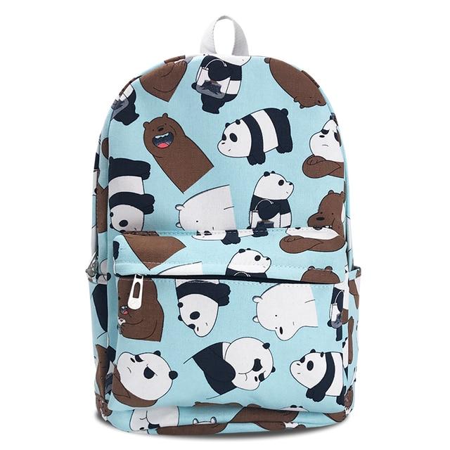 Рюкзак Панда и бурый медведь 1