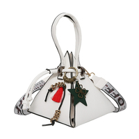 Triangle Shape Clutch Women Evening Bag PU Leather Wristlet Purses Small Handbags Herald Fashion New Arrivals