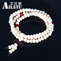 Ailatu Wholesale Free Shipping Hot White Sandalwood Prayer Mala Beads Bracelets, Fashion Tibetan Jewelry For Men and Women